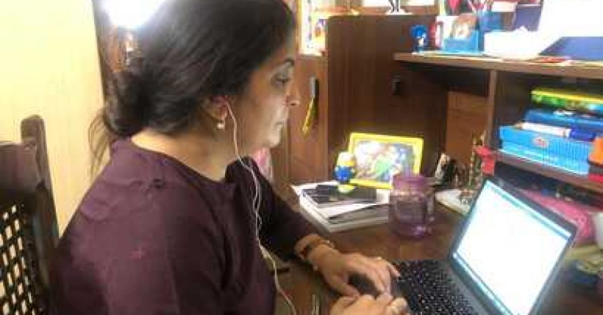 Initially Thrilled to Telework, India Workers Miss the Office | Voice of America   ~ #VoA: