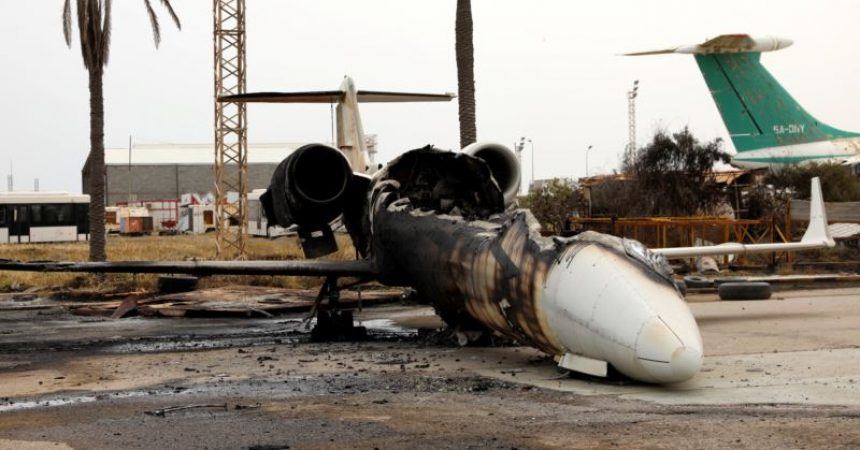 Libyan government forces recaptured Tripoli airport   ~ #AFP: