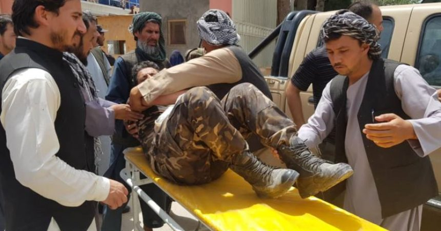 At least 11 dead in Taliban bombing in Afghanistan   ~ #AFP: