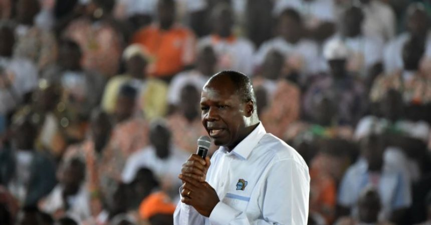 Albert Mabri Toikeusse candidate for the Ivorian presidential election   ~ #REUTERS: